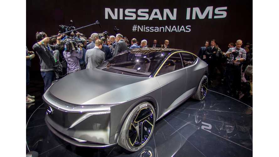 Nissan IMs Electric Sedan At 2019 NAIAS: Photos & Videos