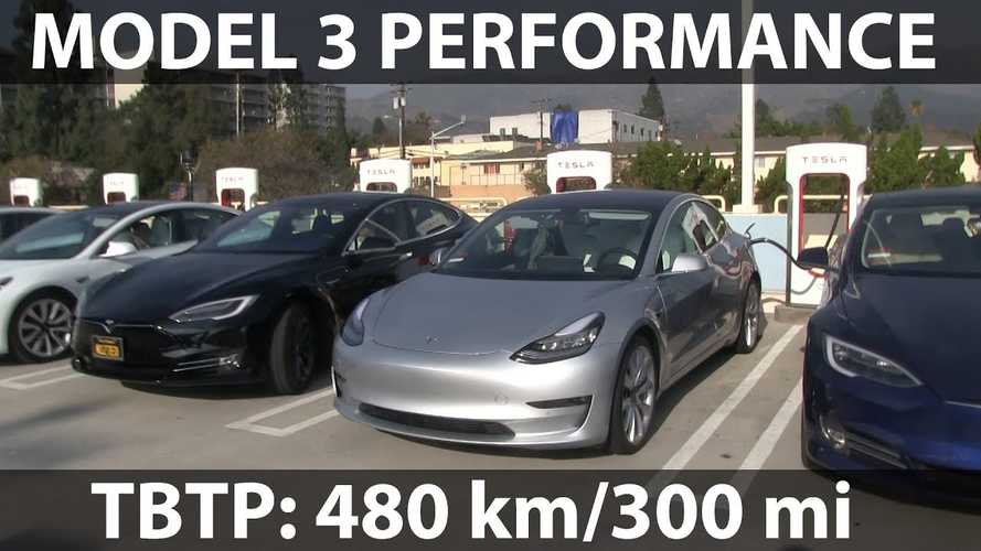 Watch This Tesla Model 3 Performance Range Test By Bjorn