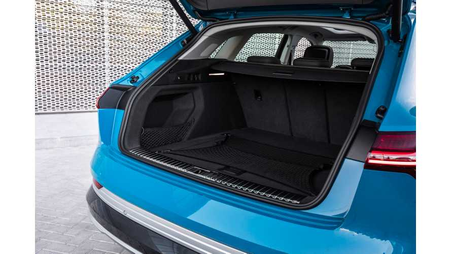 Audi e-tron Storage Almost Matches Tesla Model X: Video