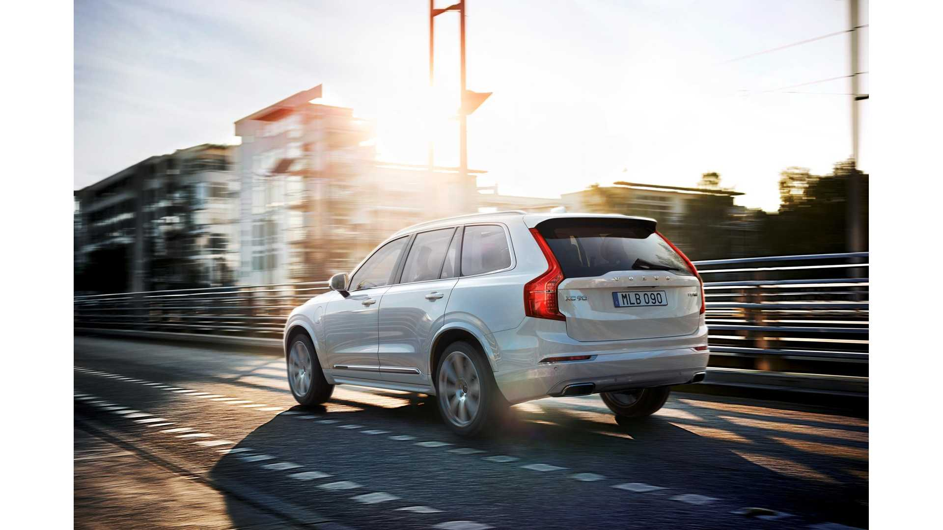 Volvo Releases First Xc90 Phev Commercial