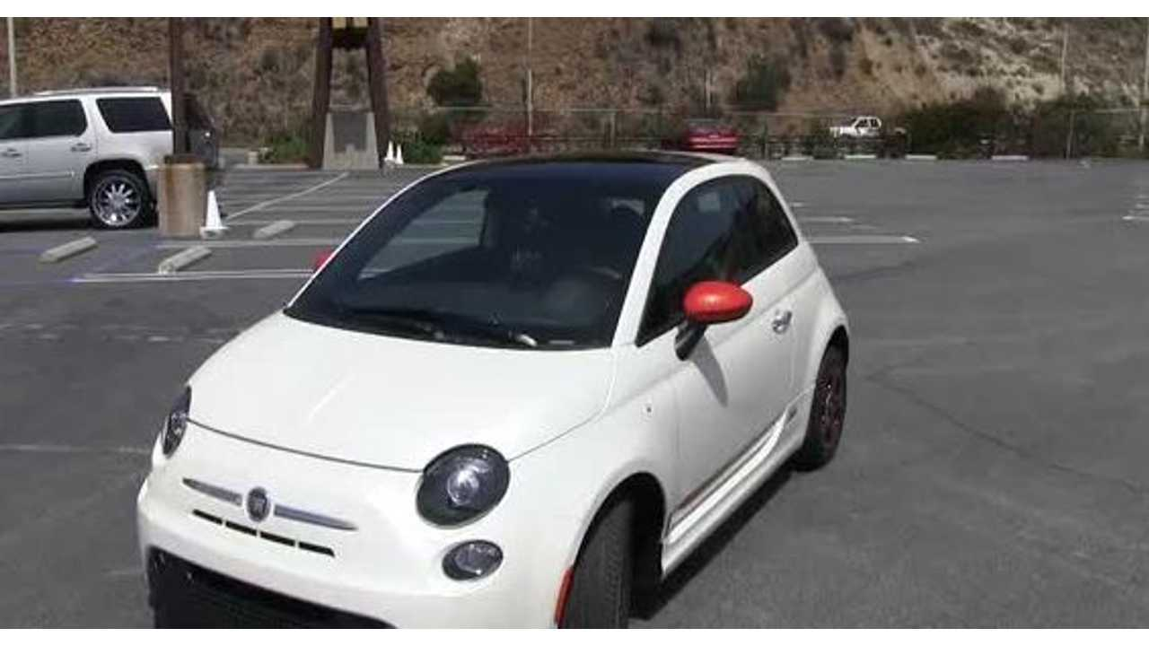 Fiat 500e Recalled For Possibility Of Electric Propulsion System Shutdown