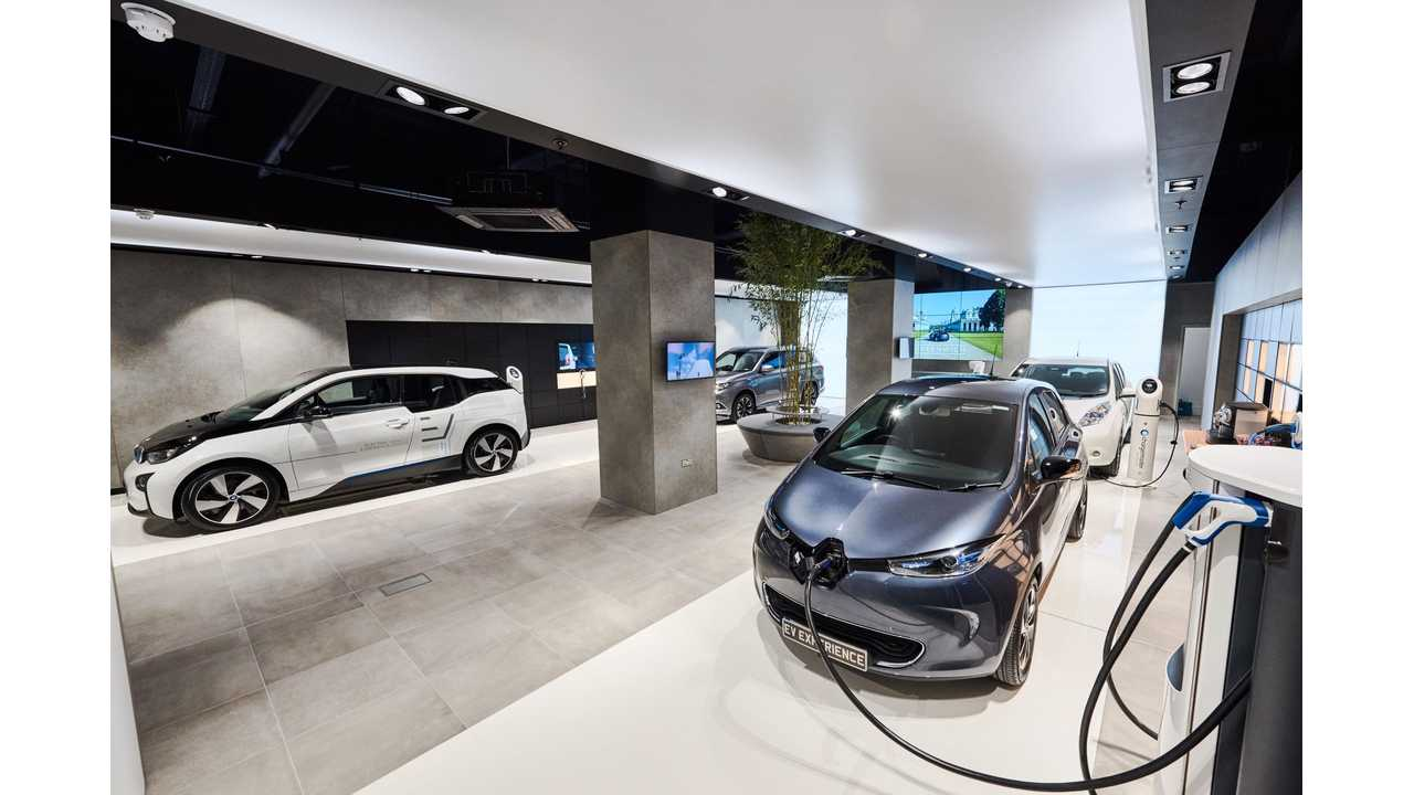 First Electric Vehicle-Only Showroom Now Open In UK, Complete With No Sales Pressure