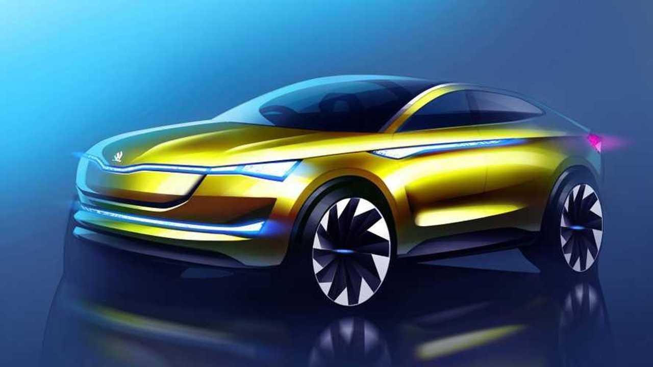 Skoda Vision E Concept Updated Ahead Of Frankfurt Debut