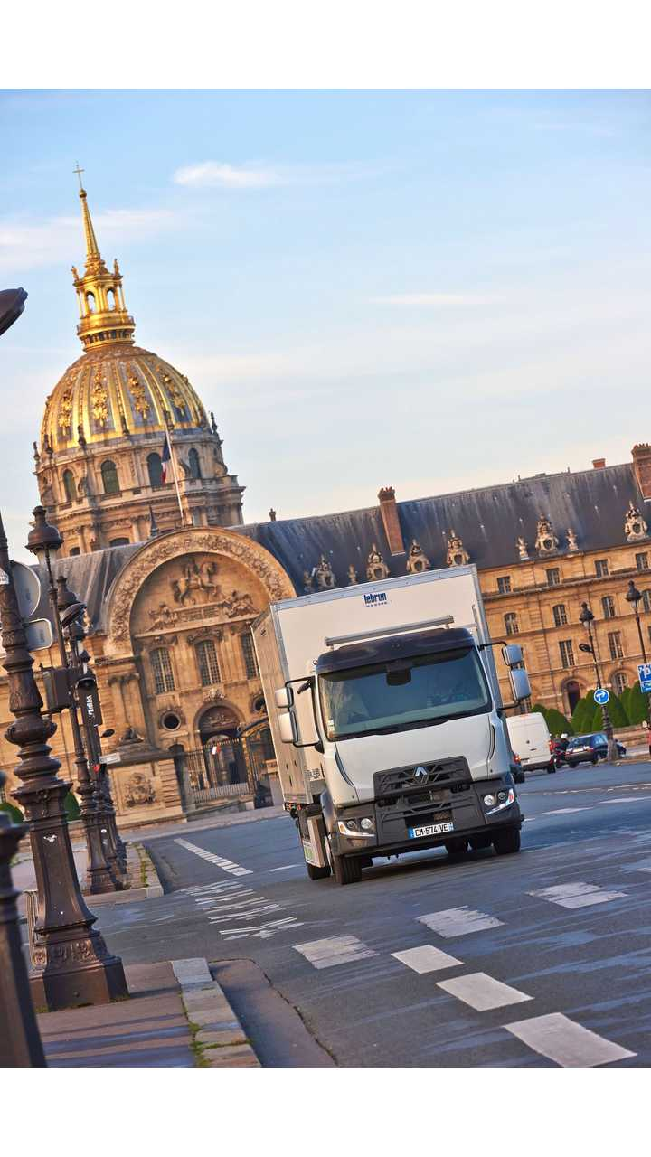 The Renault Trucks D all electric
