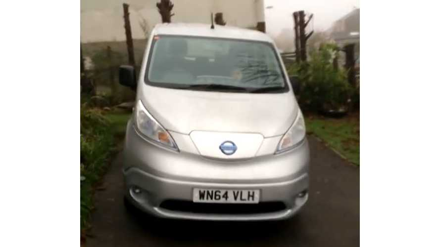 Nissan e-NV200 Combi Review - Video
