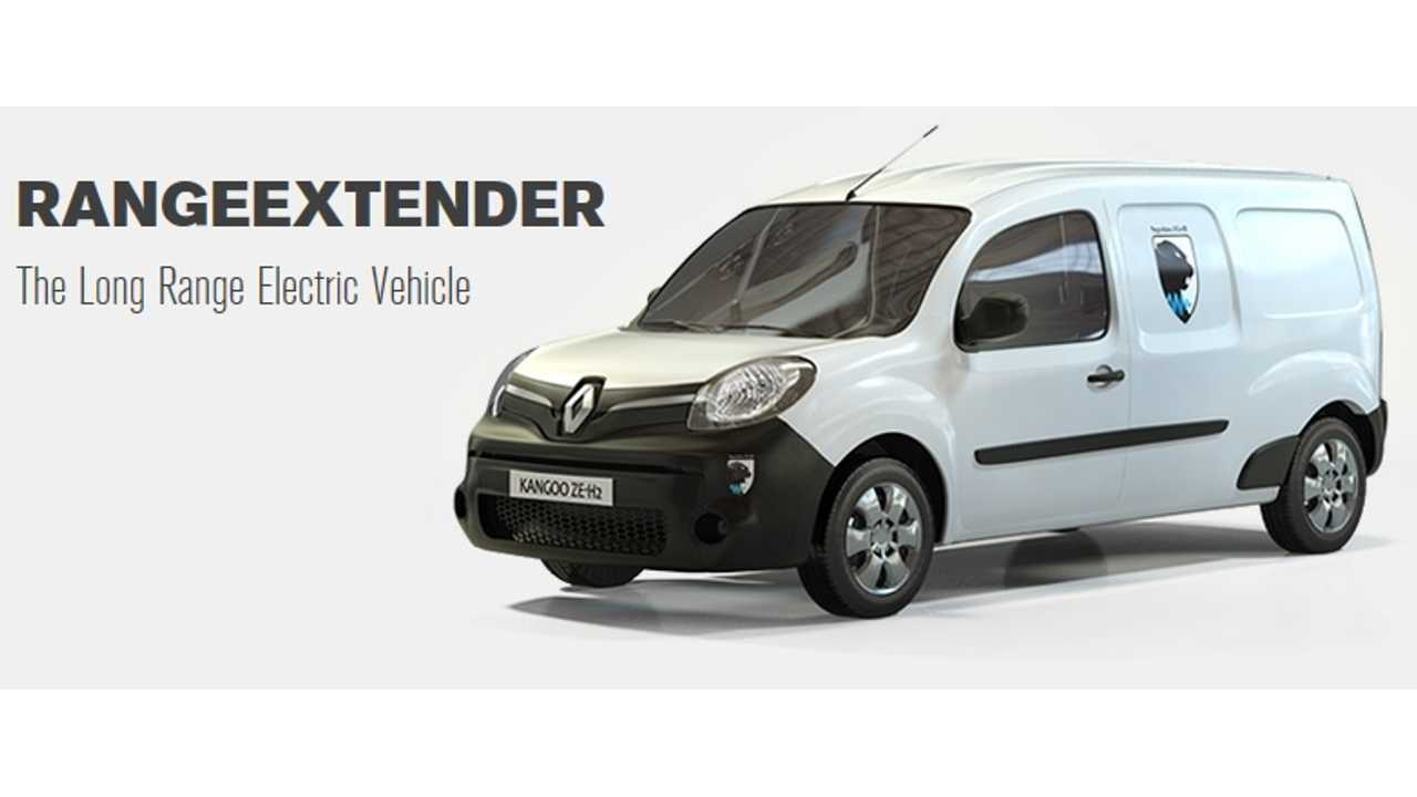 Symbio FCell Delivers First 5 Hydrogen Renault Kangoo Z.E.s