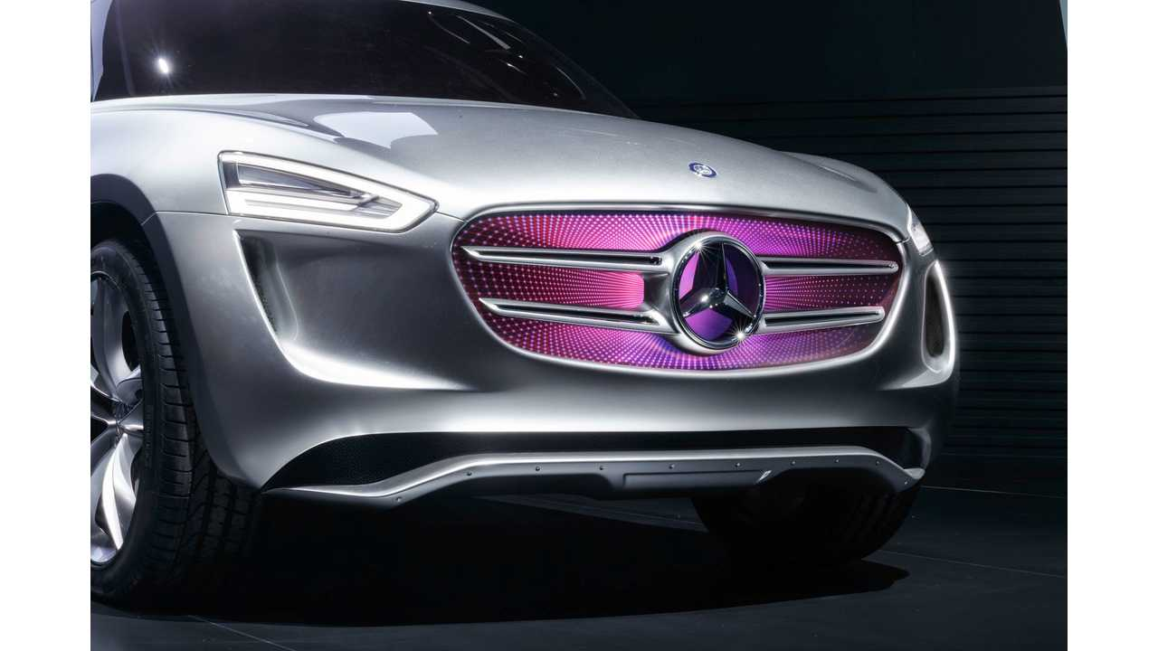 Mercedes-Benz Developing New Platform To Underpin Several Future Electric Vehicles