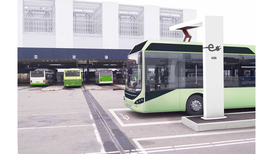 ABB Introduces Automated Fast Charger For Electric Buses