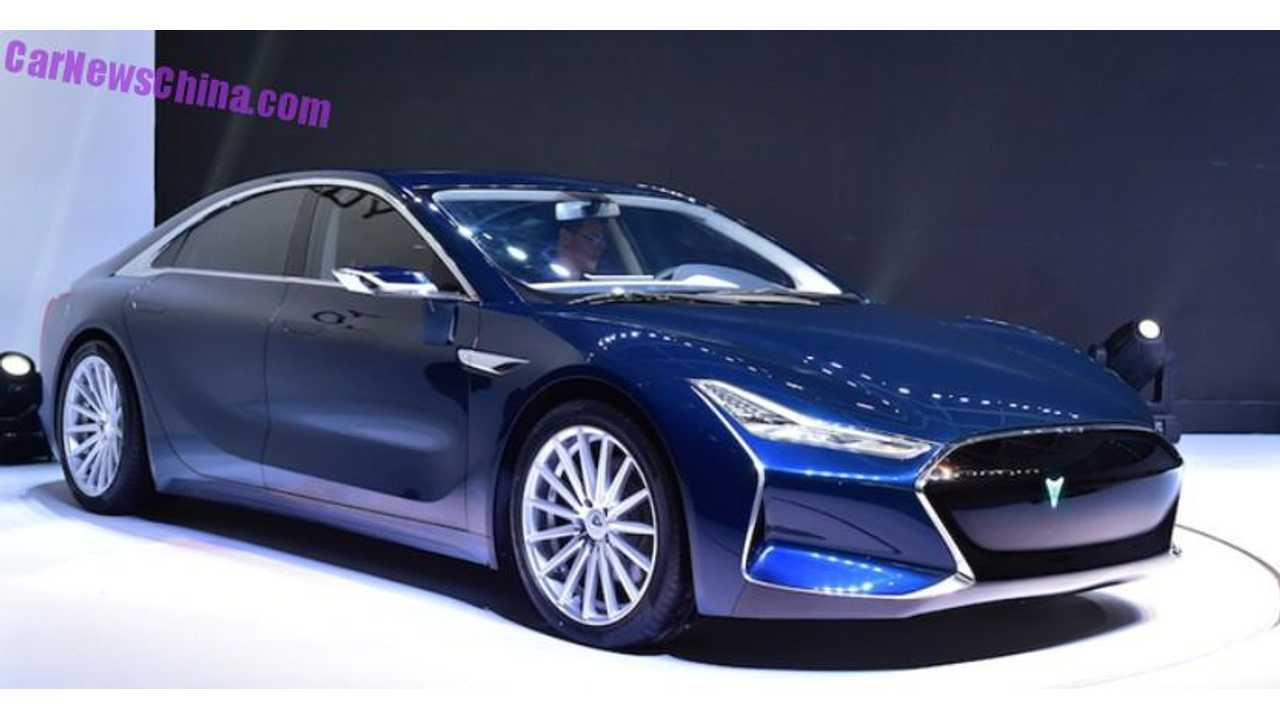 Youxia X Is China's Tesla Model S Knockoff