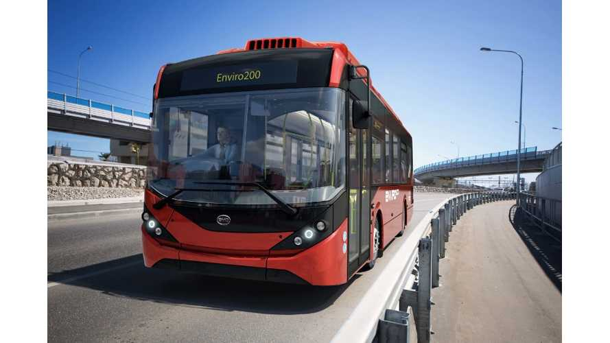 BYD Scores Europe's Largest Electric Bus Fleet Order
