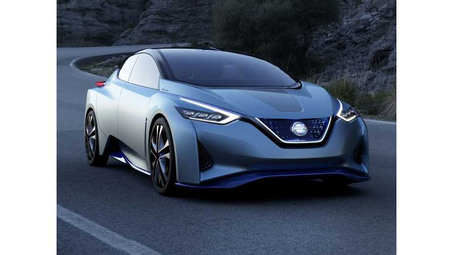 Next Generation Nissan LEAF Illustrated In 60 kWH Nissan IDS Concept