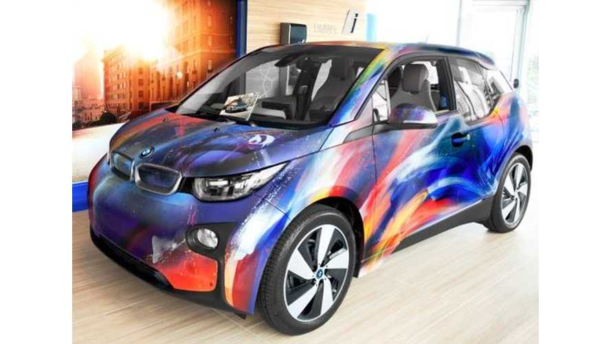 BMW i3 Art Car