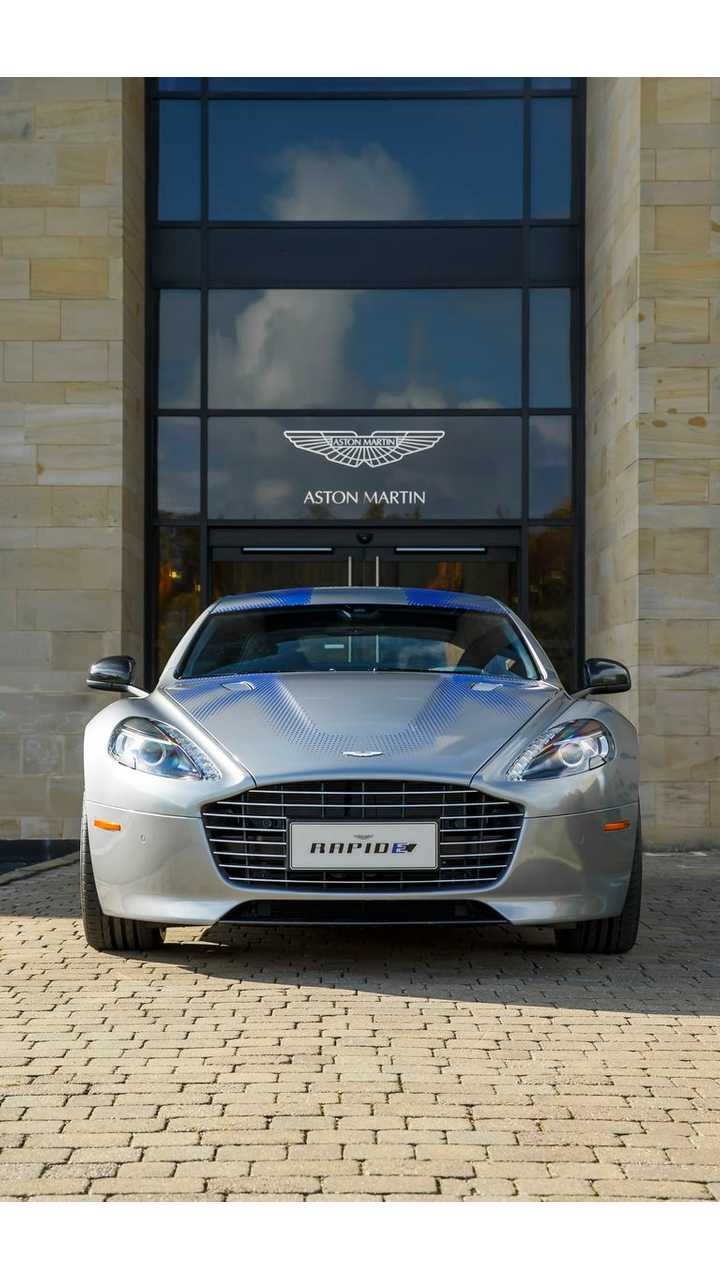 All-Electric Aston Martin RapidE Revealed