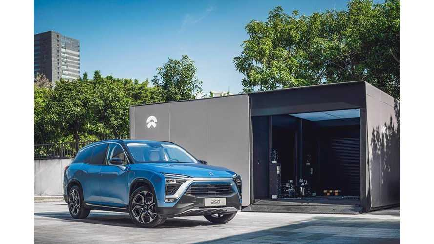 NIO Recalls 4,803 ES8 Over Battery Fire Risk