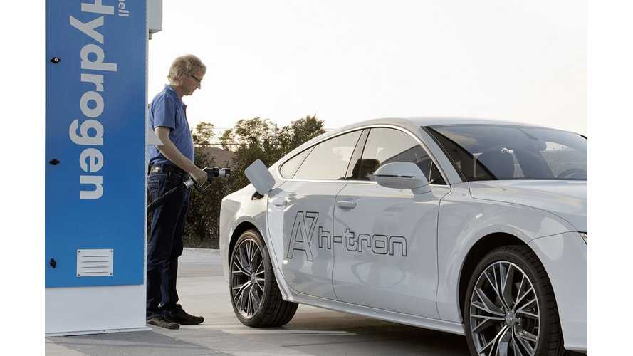Audi To Intensify Fuel-Cell Efforts Alongside Electric Car Push