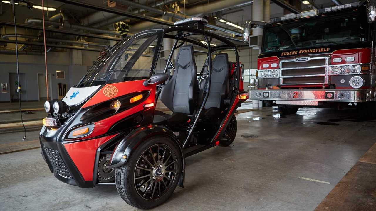 Arcimoto Unveils Rapid Responder Three-Wheeler For Fire Fighters