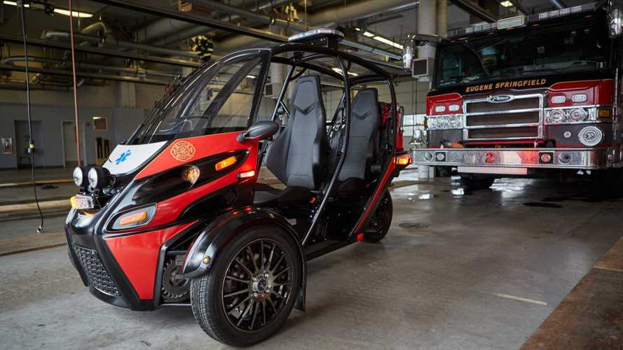 Arcimoto Unveils Rapid Responder Three-Wheeler For Fire Fighters