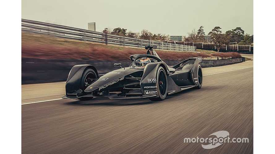 Porsche Conducts Shake Down Tests On Formula E Race Car