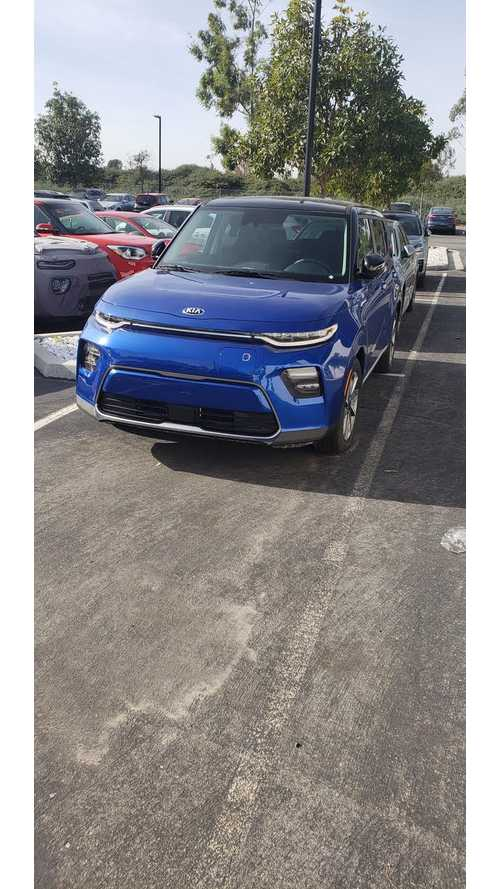 All-New 2020 Kia Soul Electric Spotted In New Colors