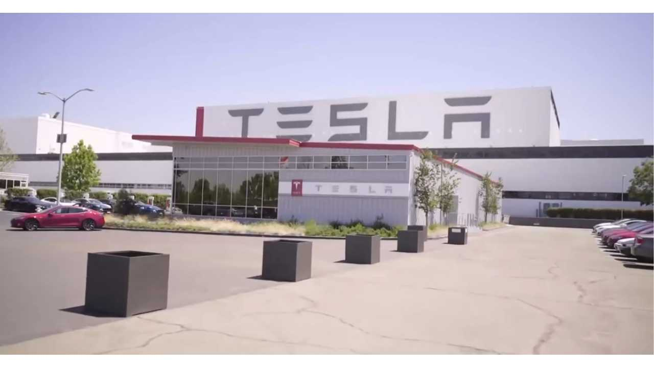 tesla fremont factory assembly