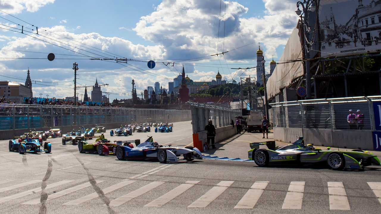 Formula E Hits A Roadblock In Moscow. Race Canceled