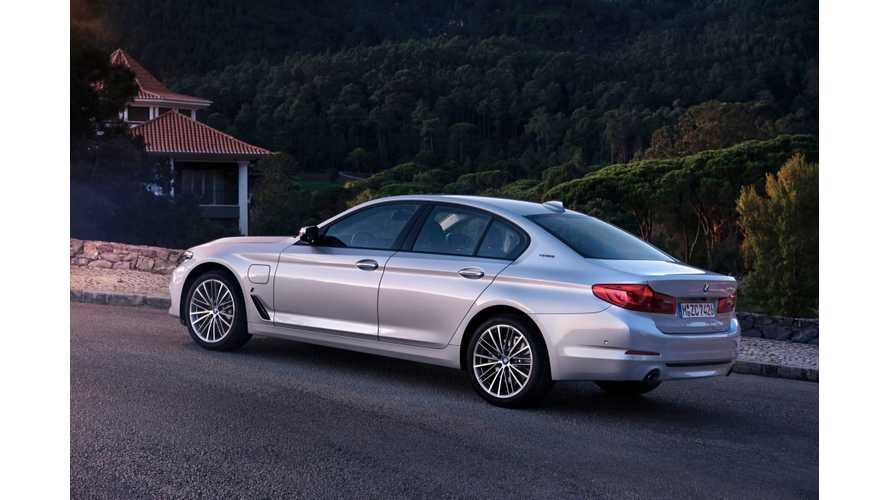 BMW Launches 2017 530e iPerformance In U.S., Arrives In March