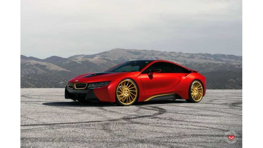 Iron Man BMW i8