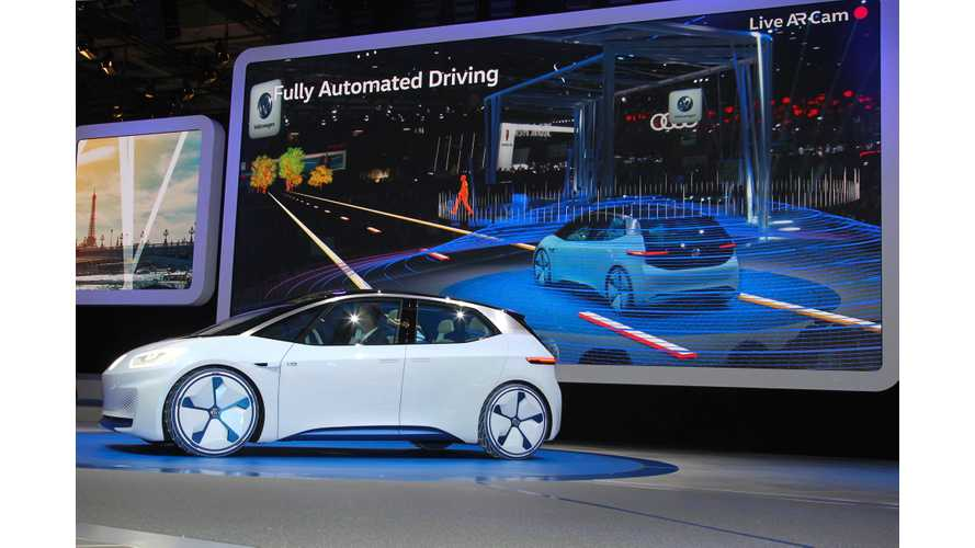 Volkswagen I.D. Concept First Drive Review - Video Test Drive...Kinda