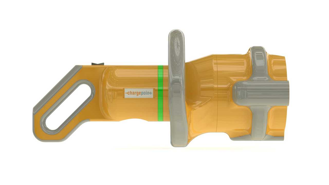 <em>ChargePoint High-Powered Connector Concept - External Features (side)</em>