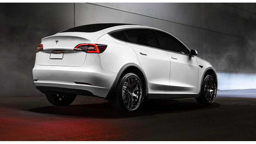 UPDATE: Tesla Model Y Rendered, This Time Showing Its Rear