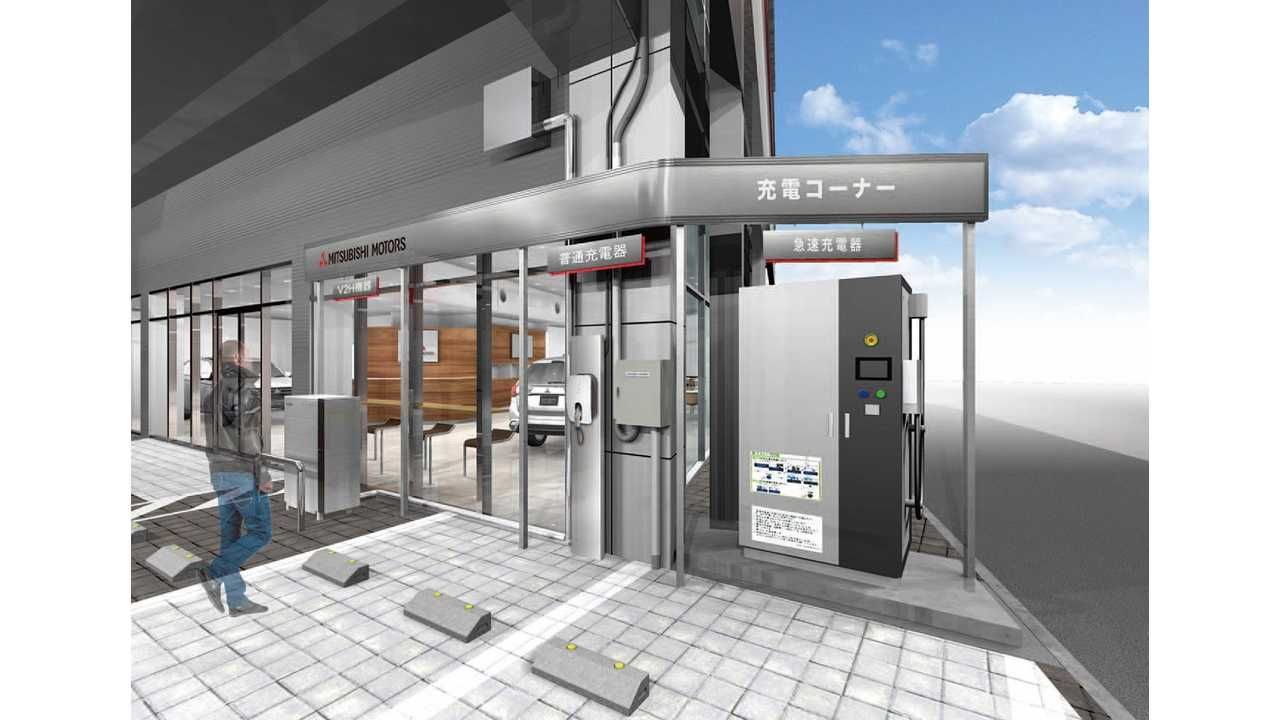More than a showroom - Mitsubishi Motors reveals new Hyper Energy Station