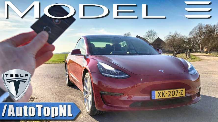 Tesla Model 3 Performance Tested: Acceleration & Top Speed POV Video