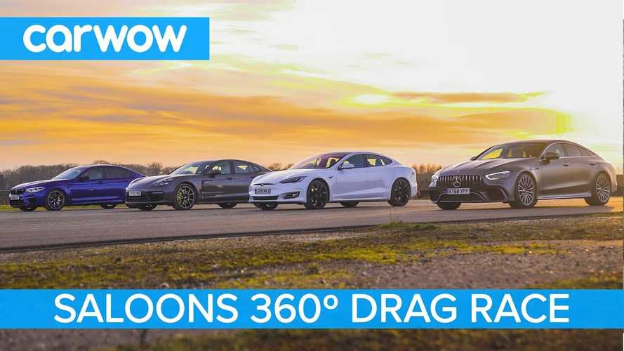 Watch These Fantastic Four-Door Sedans Race In 360-Degrees