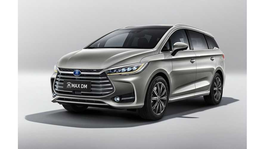 Presale Of 2019 BYD Song Max PHEV Begins