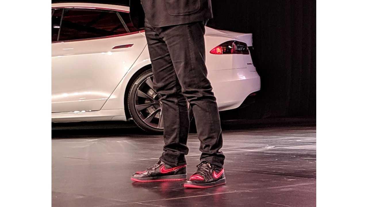 fd5bbe0b9c10 Elon s Custom Tesla Kicks  How To Buy Your Own Pair Today