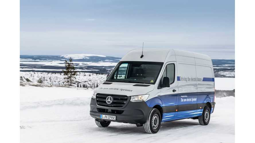 Mercedes-Benz eSprinter Electric Van Completes Final Endurance Tests