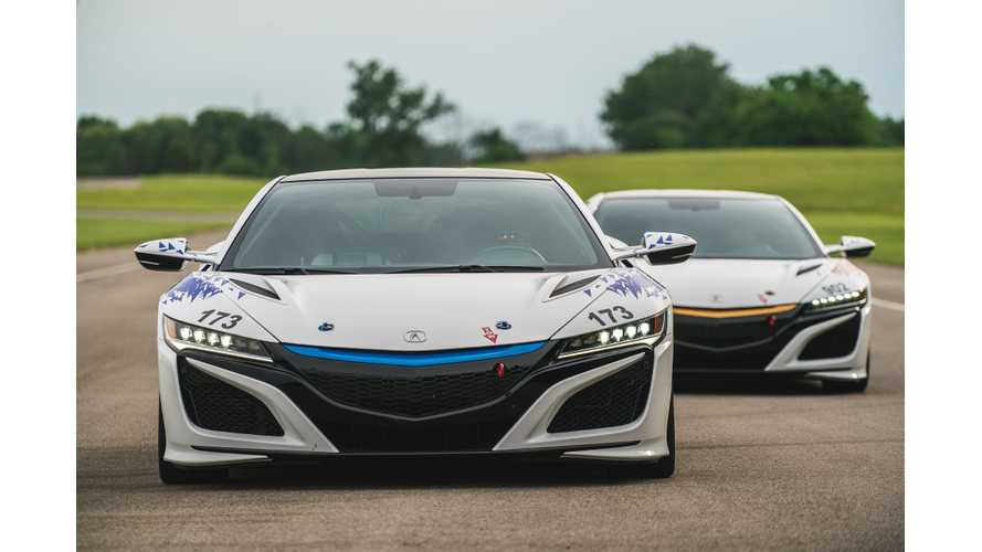 Pure Electric Honda/Acura NSX Under Consideration