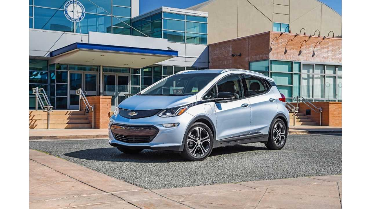 Chevrolet Bolt To Launch In South Korea Next Year