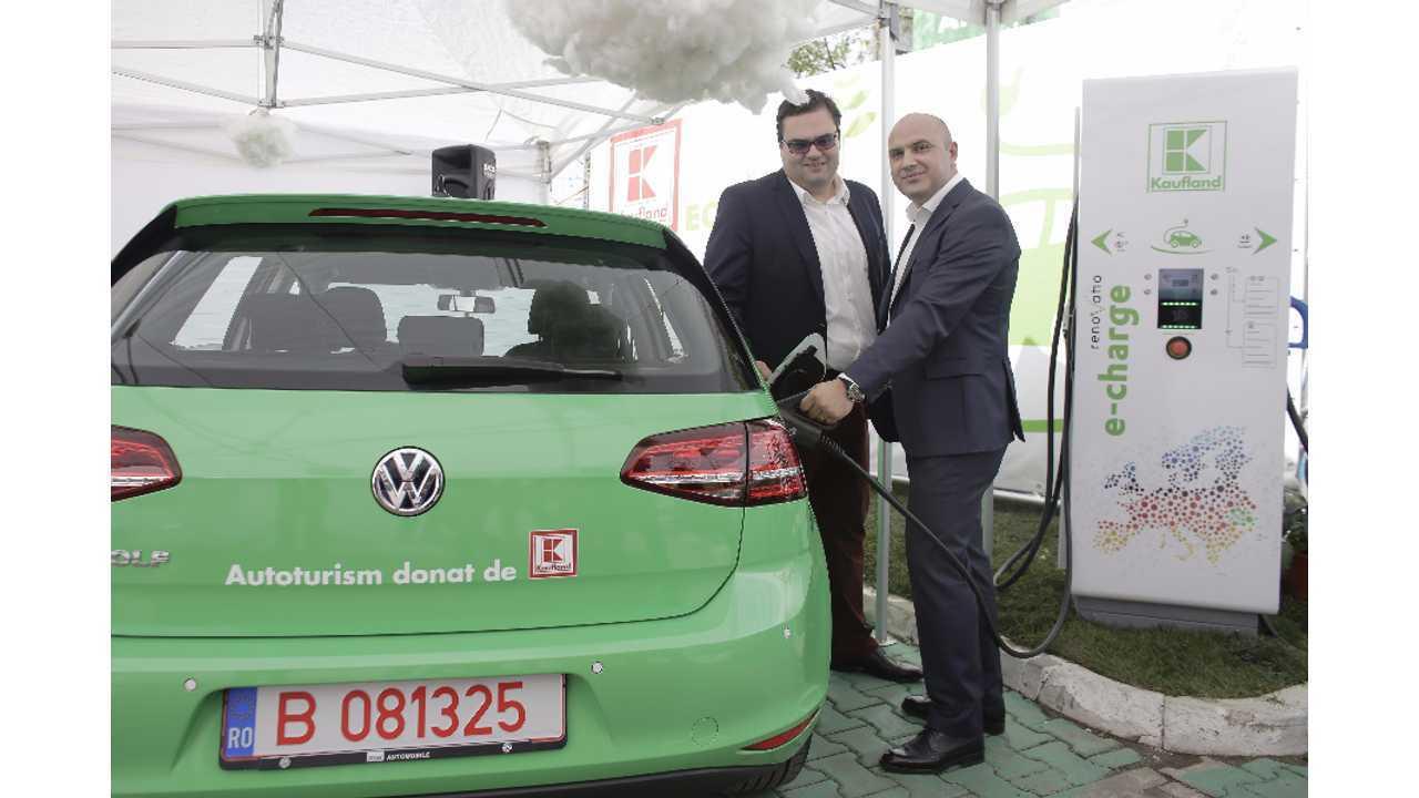 Kaufland Puts Romania On The EV Fast Charging Map