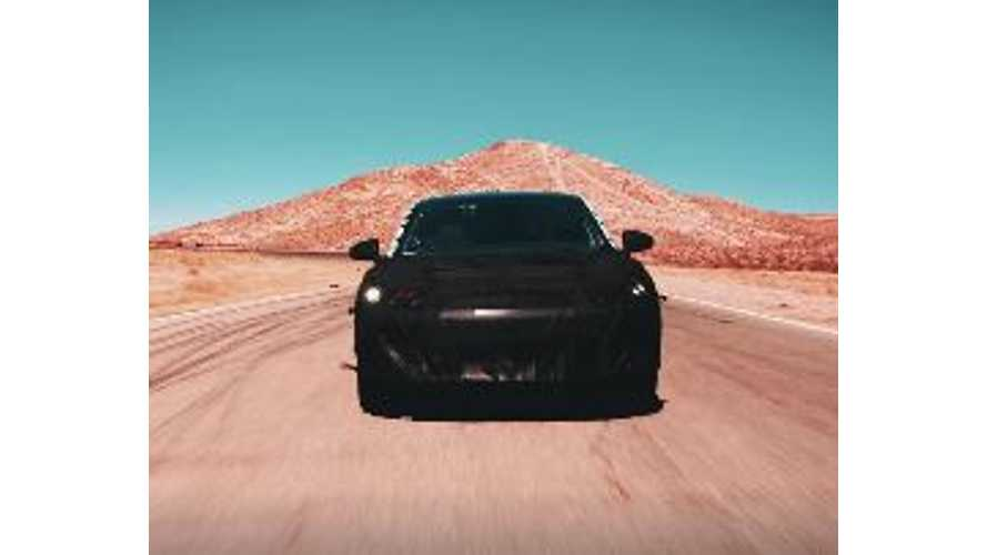 First Official Look At Faraday Future's Prototype Electric Car - Video