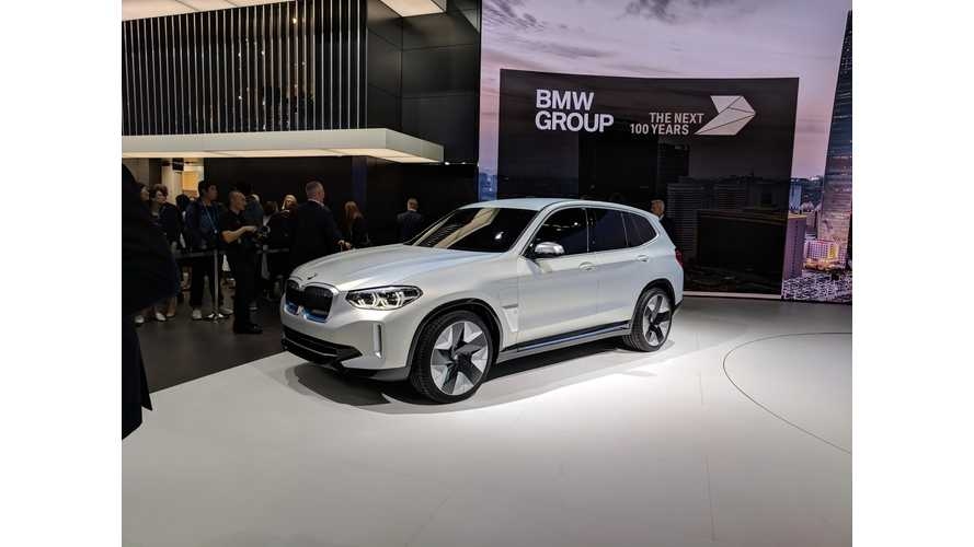BMW iX3 Debuts With 70-kWh Battery, 249-Mile Range