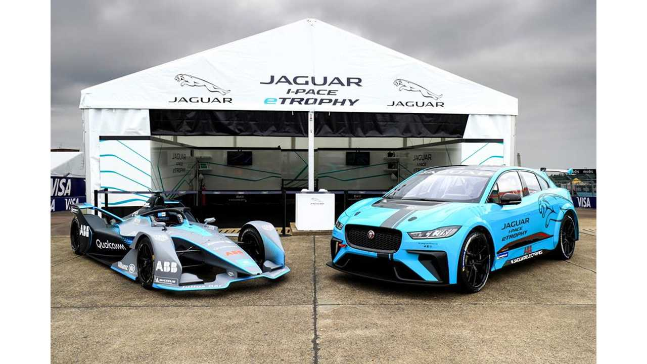 Watch As Jaguar I-PACE eTROPHY Hits The Track