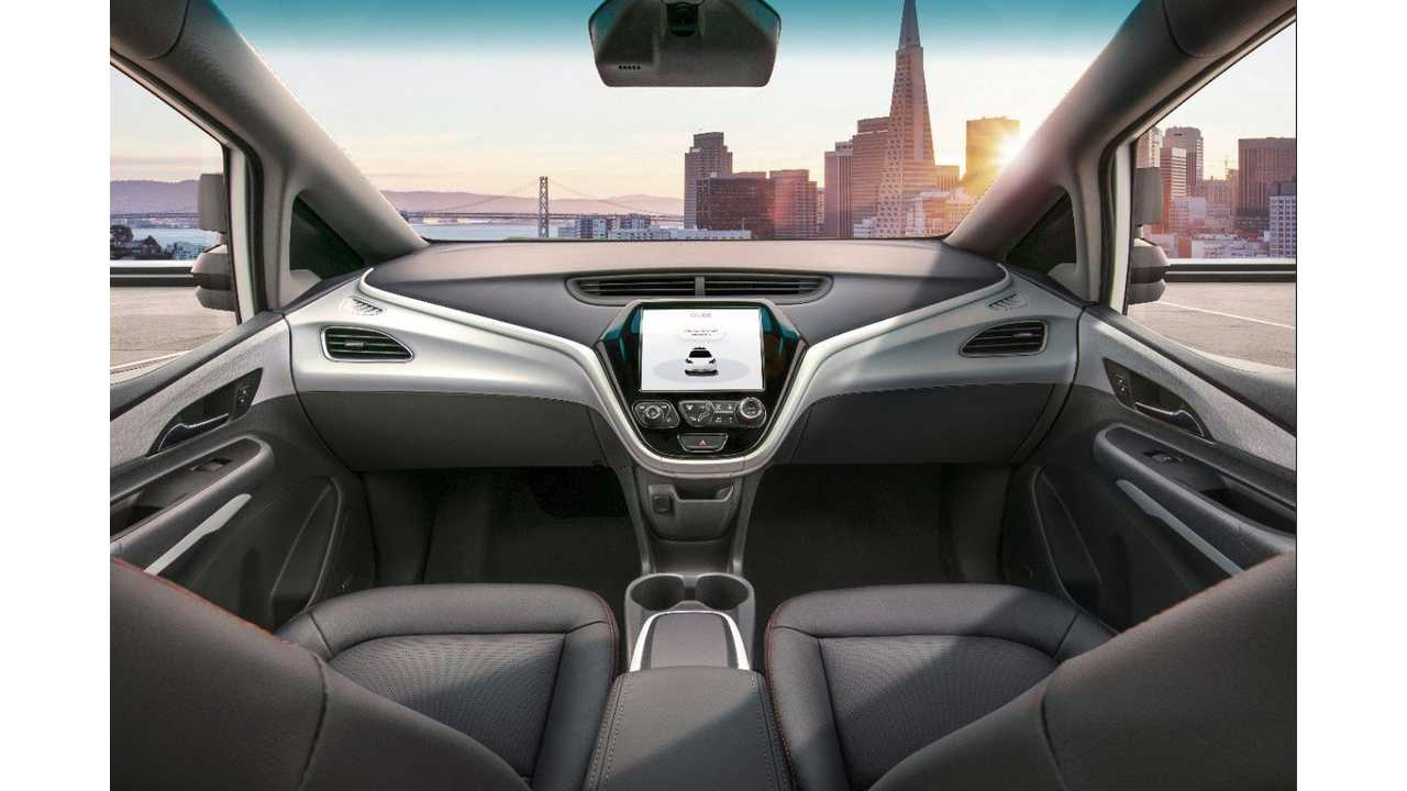 First Look At Chevy Bolt Autonomous Interior Without Steering Wheel Or Pedals