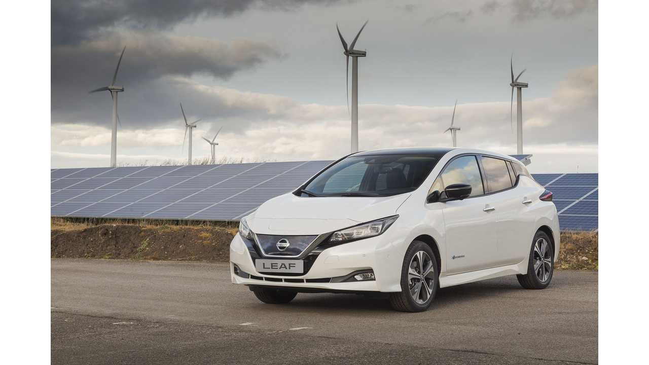 New 2018 Nissan LEAF Priced From £21,990 (≈$29,800) In UK