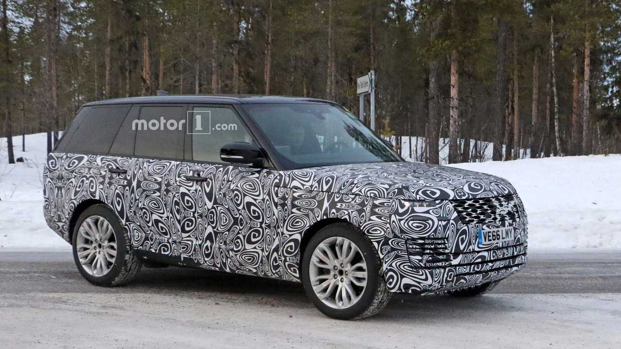 Range Rover Plug-In Hybrid Debut Is Imminent