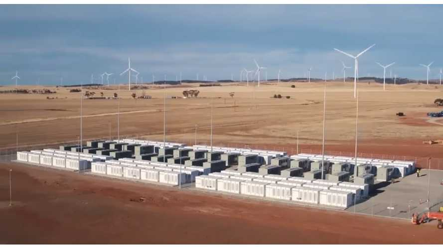As Coal Power Plant Goes Down, Tesla Battery Responds In Milliseconds To Prevent Crash