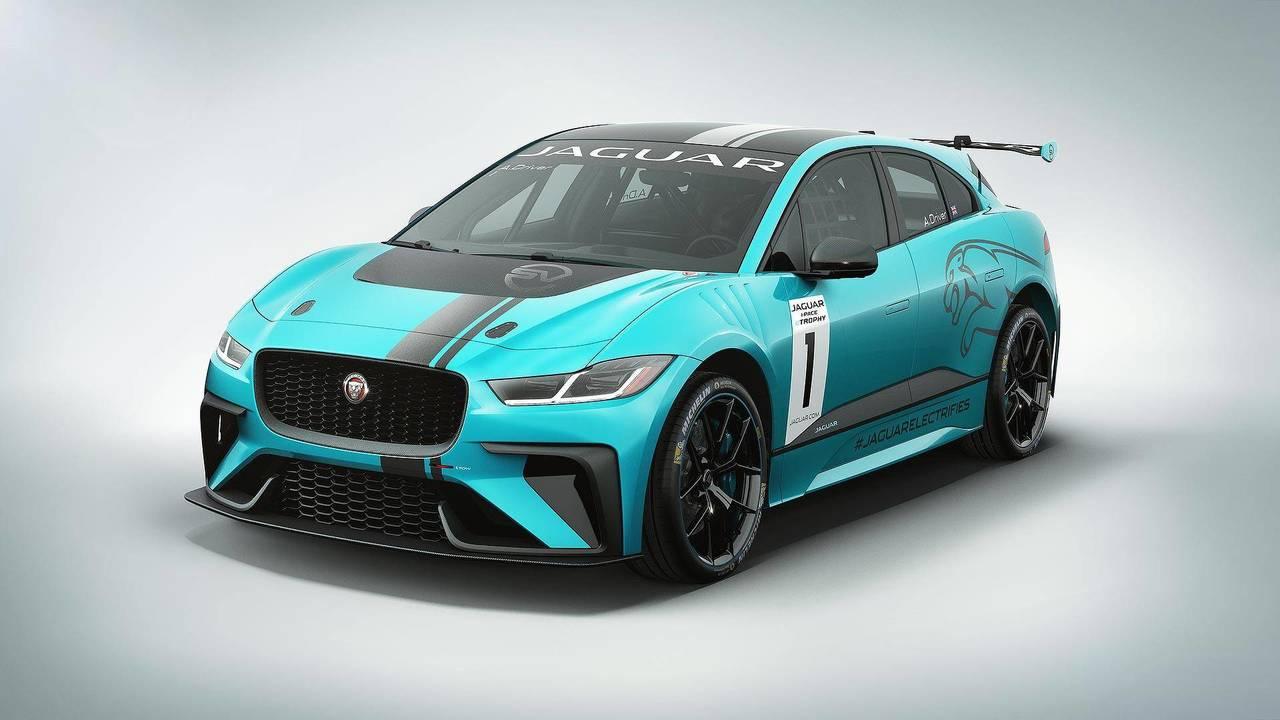 Jaguar I-Pace eTrophy Concept