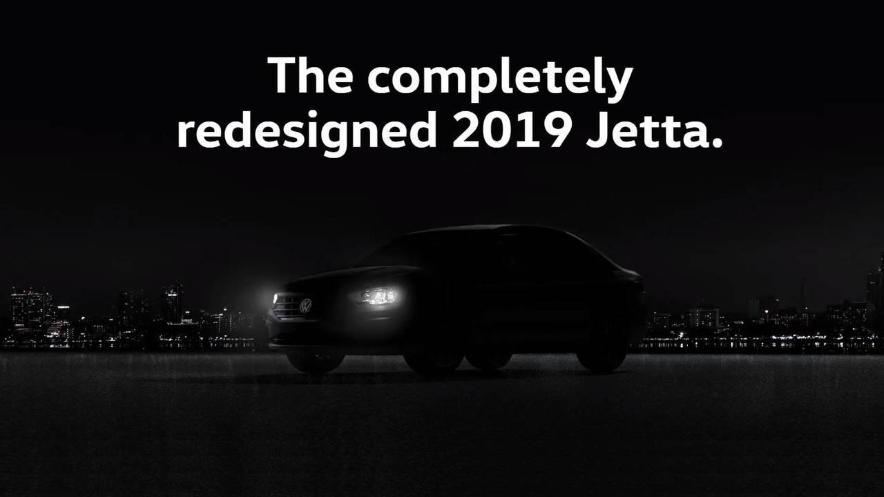 2019 VW Jetta teaser image