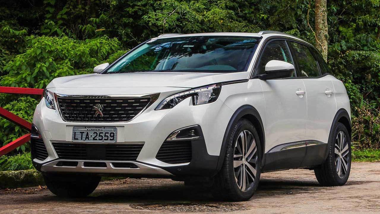 Peugeot 3008 - 250 unidades por mês (limite)