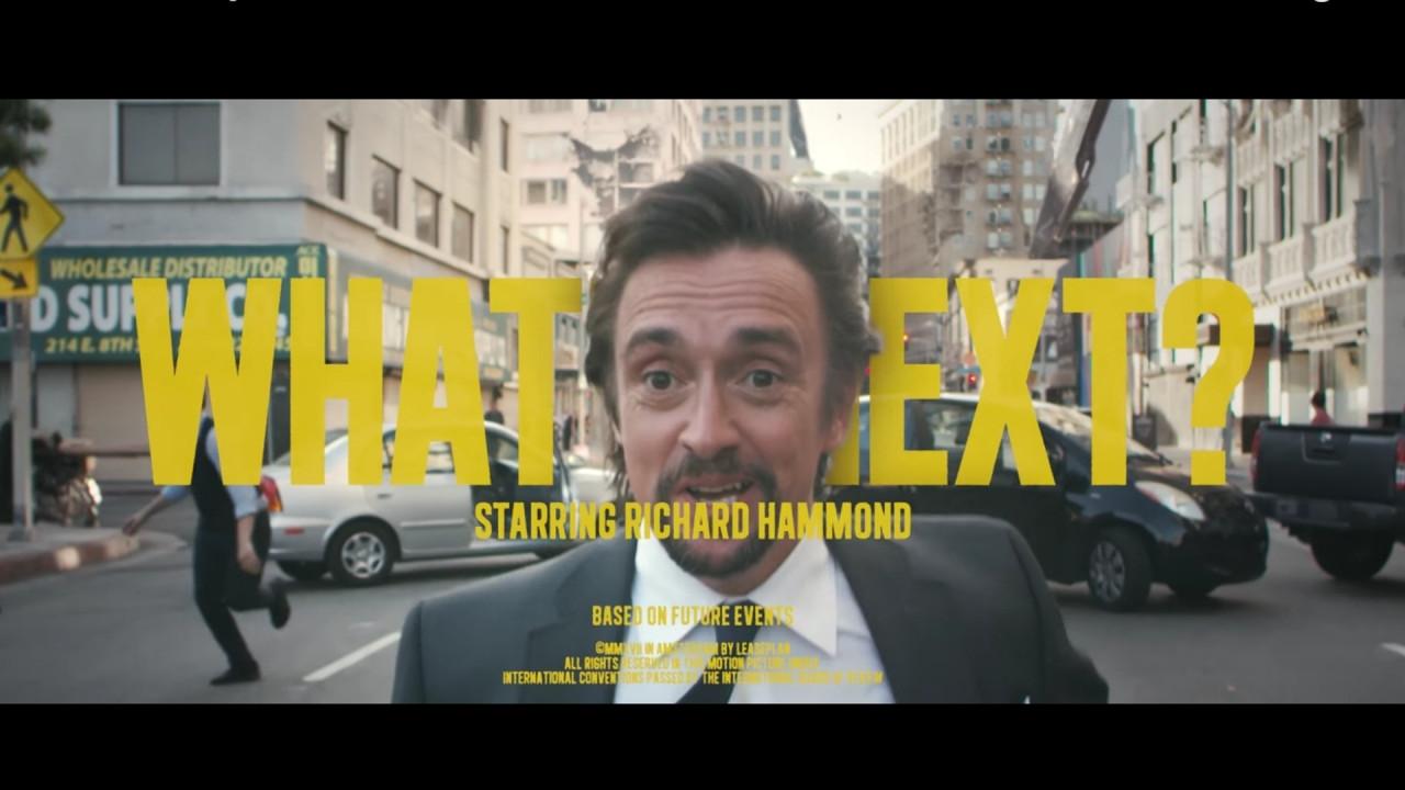 [Copertina] - Richard Hammond è il nuovo volto del noleggio auto